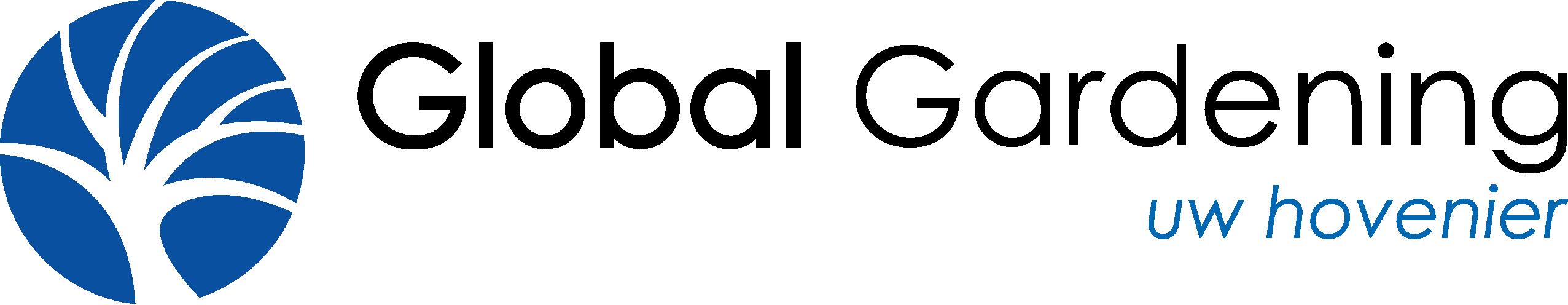 Global Gardening uw hovenier logo
